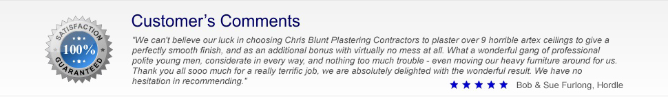 Chris Blunt Plastering